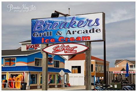 The Breakers Grill and Arcade and Ice Cream in Ocean Isle Beach